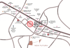 新加坡中星加坡新加坡的房产,New Futura, 16&18 Leonie Hill Road,编号37145501