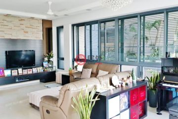 居外网在售新加坡4卧4卫曾经整修过的房产总占地193平方米SGD 5,000,000