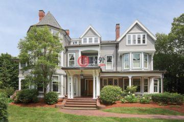 美国房产房价_马萨诸塞州房产房价_牛顿房产房价_居外网在售美国牛顿8卧7卫最近整修过的房产总占地2670平方米USD 3,495,000