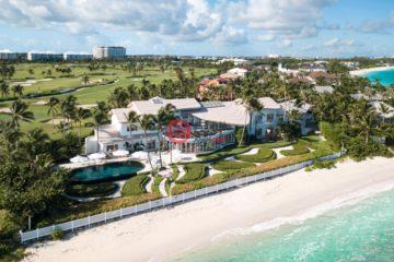 居外网在售巴哈马天堂岛12卧19卫的房产总占地6070平方米USD 39,000,000