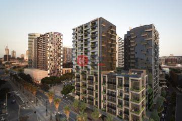居外网在售澳大利亚1卧1卫新房的房产总占地3平方米AUD 404,000