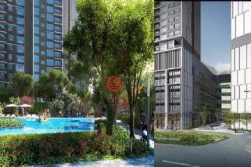 居外网在售马来西亚1卧新开发的房产总占地58平方米MYR 1,237,848