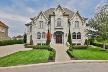 加拿大房产房价_魁北克房产房价_Laval房产房价_居外网在售加拿大Laval6卧4卫特别设计建筑的房产总占地1057平方米CAD 2,695,000