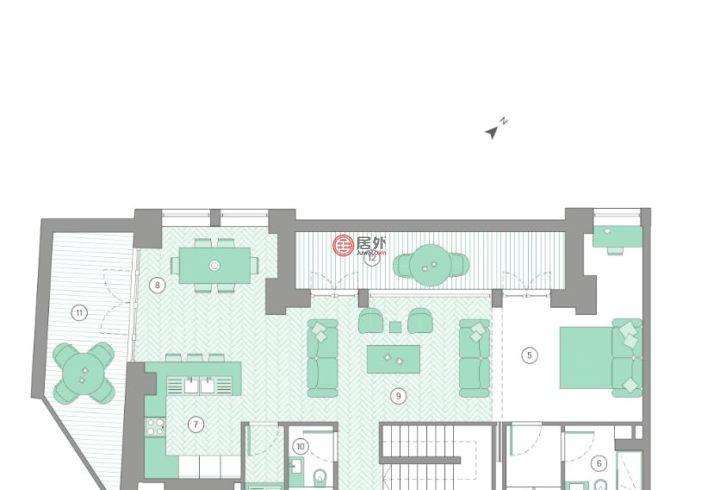 英国英格兰伦敦的房产,Sherwood Street,编号35909458