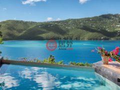 居外网在售美属维京群岛St. Thomas8卧6卫的房产总占地2226平方米USD 2,495,000