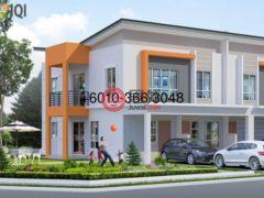 居外网在售马来西亚3卧2卫的公寓总占地169平方米MYR 355,000