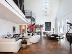 居外网在售美国纽约5卧6卫的房产总占地623平方米USD 29,850,000