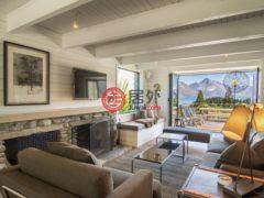 居外网在售新西兰皇后镇4卧3卫的房产总占地1369平方米