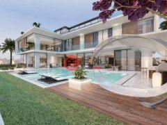居外网在售阿联酋6卧8卫的独栋别墅总占地1410平方米AED 115,000,000