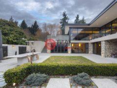 居外网在售新西兰皇后镇4卧4卫的房产总占地1576平方米