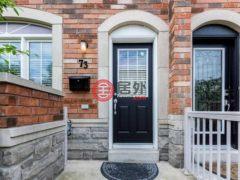 居外网在售加拿大多伦多3卧4卫的房产总占地186平方米CAD 699,900