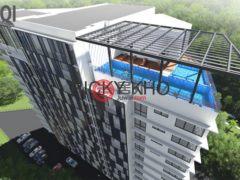 居外网在售马来西亚古晋3卧2卫的房产总占地1127平方米MYR 630,000