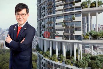 居外网在售新加坡3卧2卫新开发的公寓总占地102平方米SGD 2,650,000