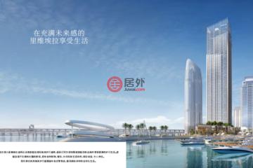 居外网在售阿联酋2卧2卫新房的公寓总占地119平方米AED 2,900,000