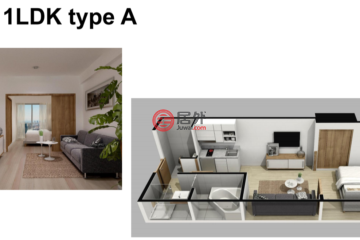 居外网在售日本1卧1卫新房的房产总占地30平方米JPY 29,880,000