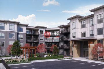 居外网在售加拿大1卧1卫新开发的新建房产总占地56平方米CAD 300,000起