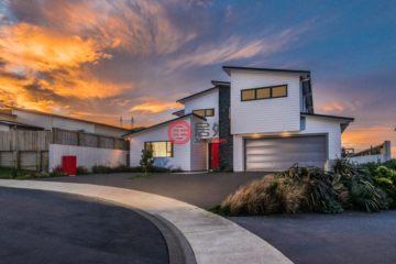 居外网在售新西兰威灵顿5卧4卫的房产总占地721平方米