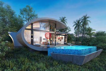 居外网在售泰国2卧2卫新开发的房产总占地500平方米THB 8,800,000