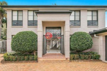 居外网在售澳大利亚5卧3卫特别设计建筑的房产总占地880平方米AUD 4,680,000
