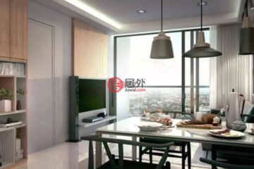 居外网在售马来西亚吉隆坡2卧2卫的房产总占地61平方米MYR 1,098,000