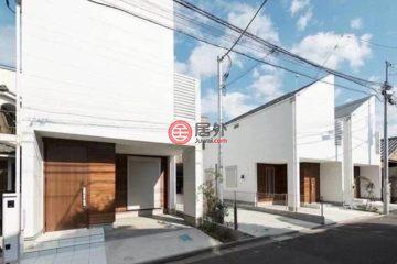 居外网在售日本3卧2卫特别设计建筑的房产总占地81平方米JPY 59,800,000