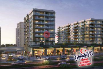 居外网在售土耳其1卧1卫新开发的房产总占地16863平方米TRY 586,000