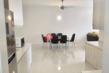 居外网在售马来西亚吉隆坡3卧2卫的房产总占地129平方米MYR 3,800 / 月