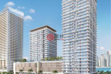 居外网在售阿联酋1卧2卫新开发的房产总占地76平方米AED 1,524,888
