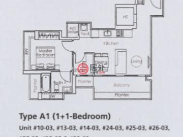 新加坡中星加坡新加坡的新建房产,编号47338158