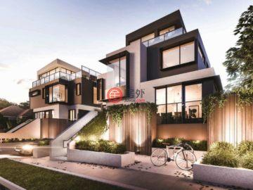 居外网在售澳大利亚墨尔本6卧4卫的房产总占地303平方米AUD 1,800,000