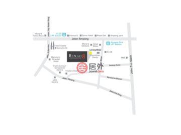 马来西亚Wilayah PersekutuanKuala Lumpur的房产,Binjai 8 KLCC,编号52434597
