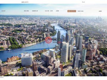 居外网在售英国2卧2卫新开发的新建房产总占地82平方米GBP 990,500起