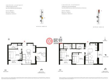 阿联酋迪拜迪拜的新建房产,Sobha Creek Vistas,编号47587016