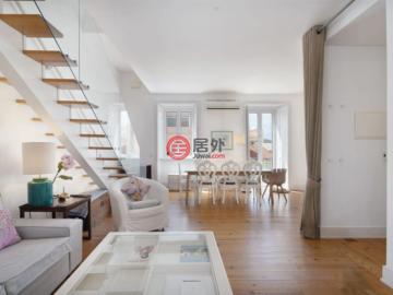 居外网在售葡萄牙4卧3卫的房产总占地164平方米EUR 790,000
