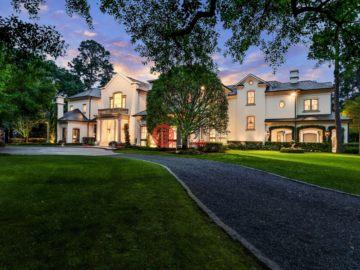 美国房产房价_德克萨斯州房产房价_休斯顿房产房价_居外网在售美国休斯顿7卧10卫特别设计建筑的房产总占地6070平方米USD 13,950,000