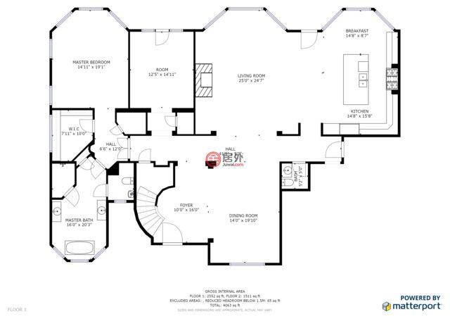 美国伊利诺伊州隆格罗韦的房产,7288 Claridge Ct,编号47580647
