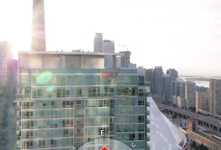 加拿大安大略省多伦多1卧1卫新开发的房产,编号28512