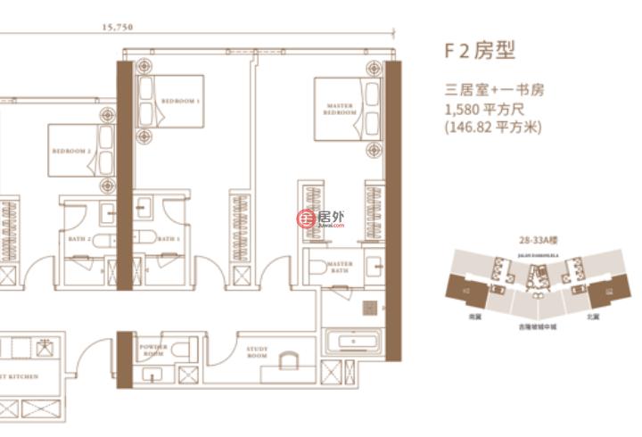 马来西亚Kuala Lumpur吉隆坡的房产,Pavilion Damansara Heights,编号54128869