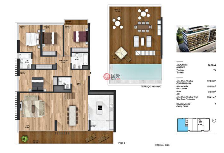葡萄牙里斯本里斯本的房产,编号51210678