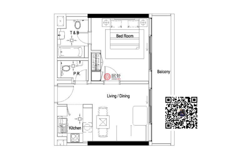 阿联酋迪拜Business Bay的房产,编号54568927