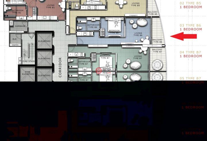 泰国春武里府芭堤雅的房产,362 Pratamanak Rd,编号58228976