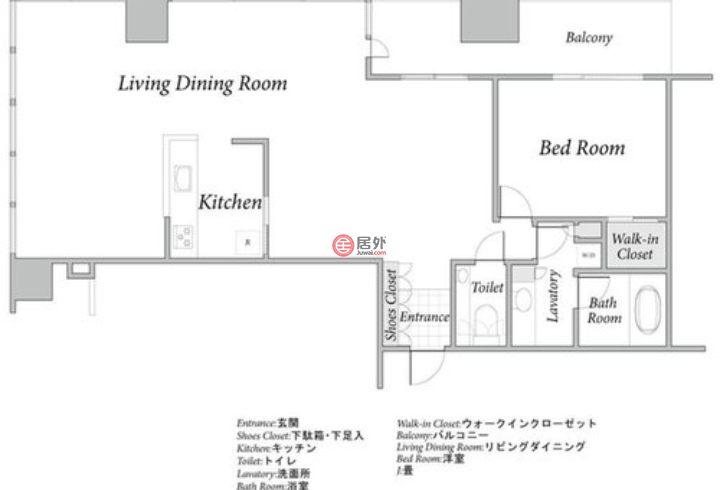 日本TokyoTokyo的房产,编号53199614