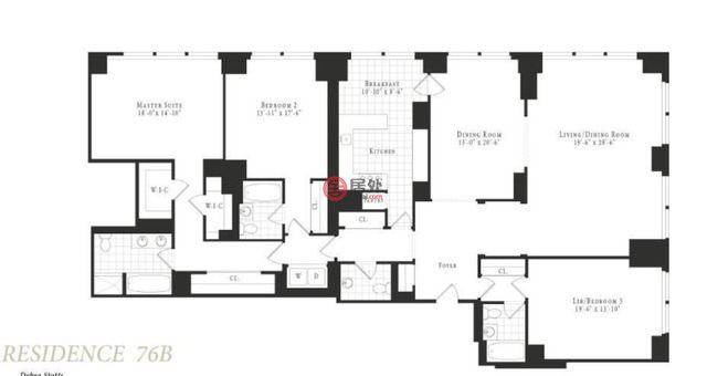 美国纽约州布朗克斯的房产,845 United Nations Plaza, Unit 76B,编号48593764