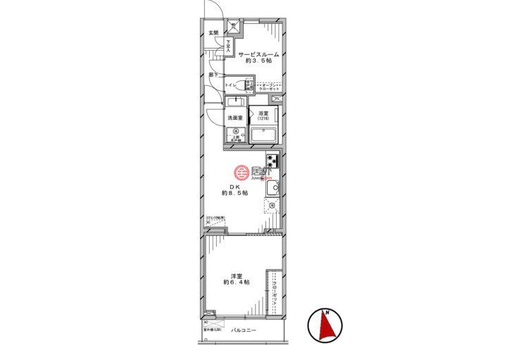 日本JapanTokyo的房产,编号54683850