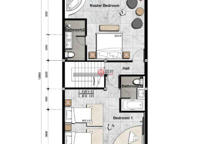 泰国普吉府普吉的房产,Naiharn,编号49200385