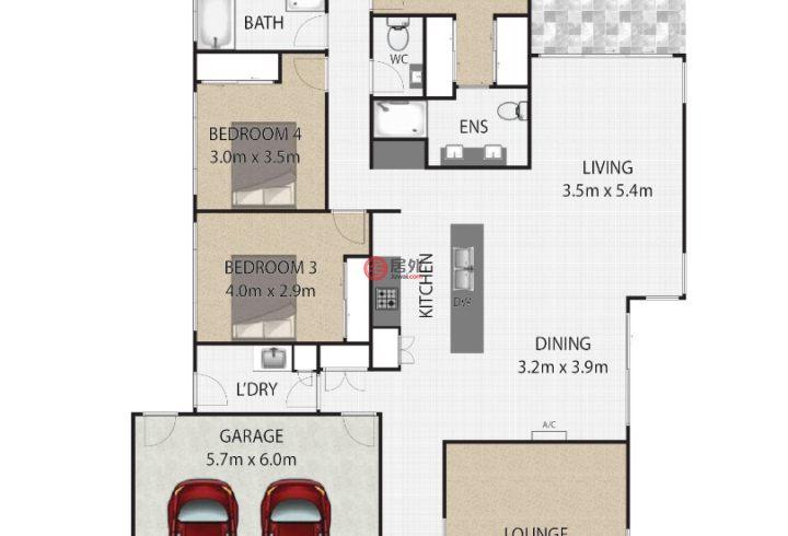 澳大利亚昆士兰Redland Bay的房产,8 Muller Street,编号52752191