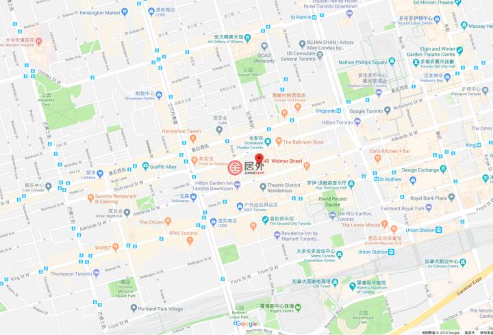 加拿大安大略省多伦多1卧1卫新房的房产