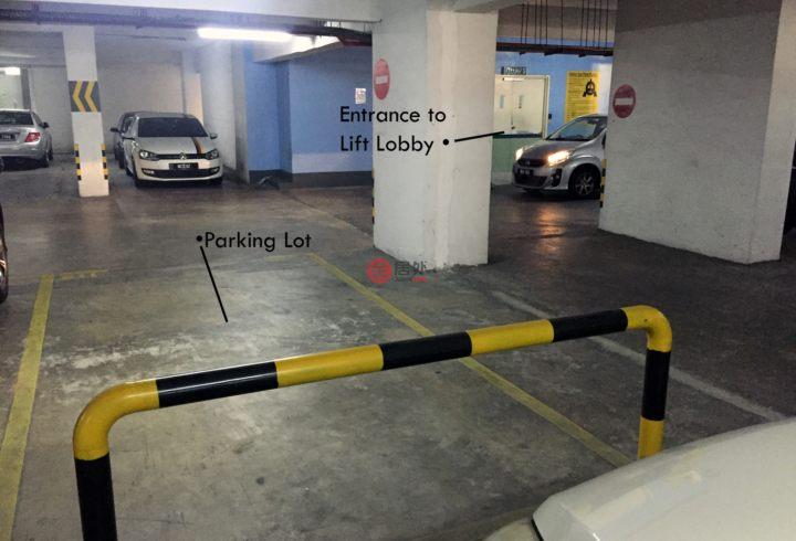 马来西亚吉隆坡3卧2卫局部整修过的房产