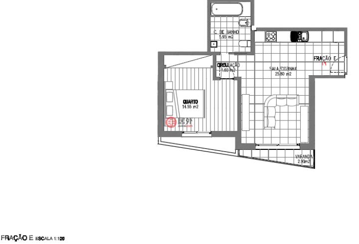 葡萄牙莱里亚Alcobaça的房产,Rua Francisco Martins,编号52397479