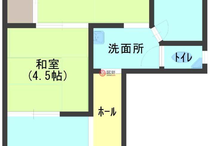 日本大阪府大阪市的房产,浪速区敷津西2丁目10-15,编号56160925